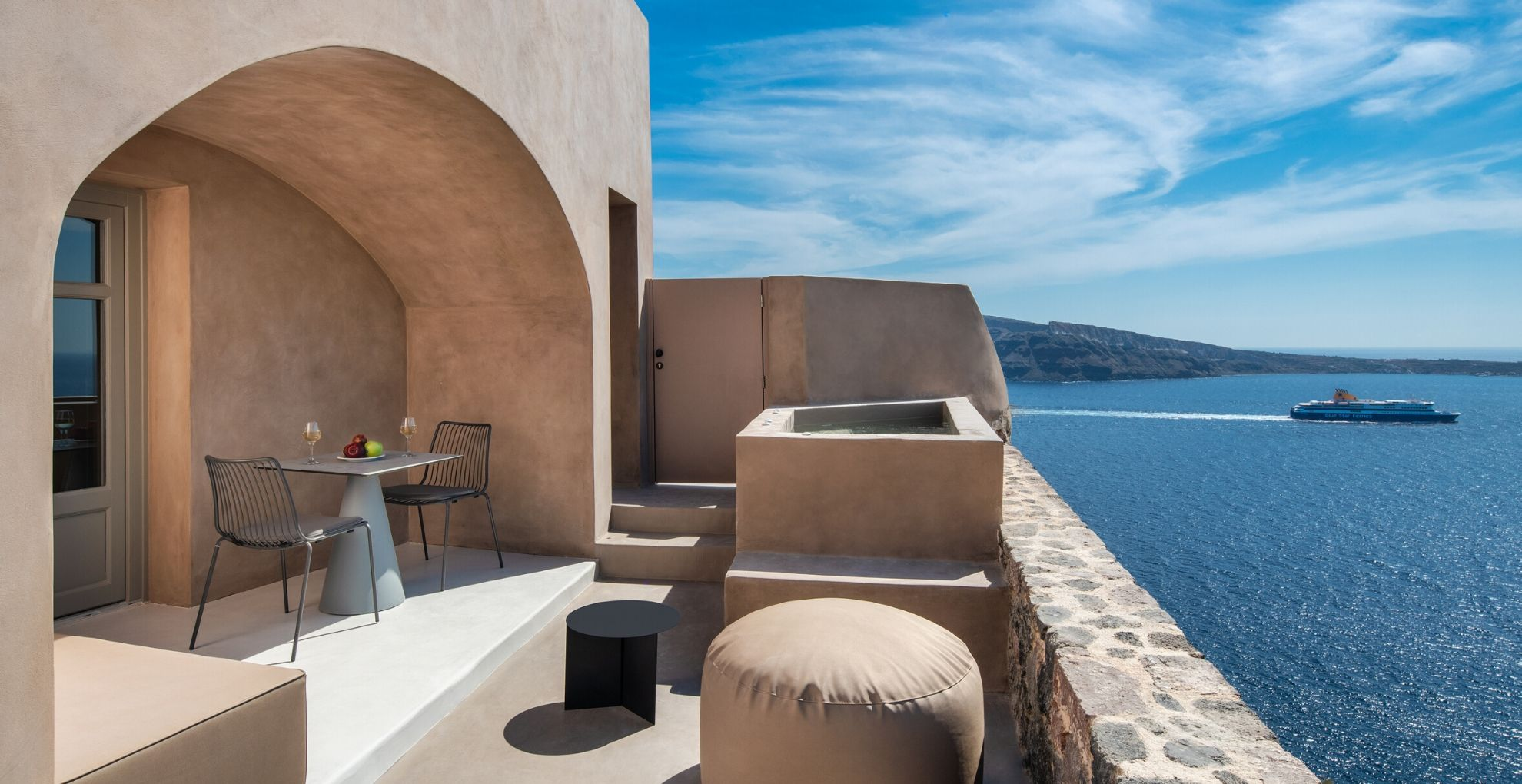 Jacuzzi Suite With Caldera View